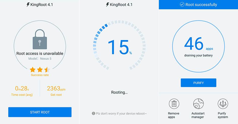 Szybki ROOT Android bez komputera (wszystkie urządzenia)